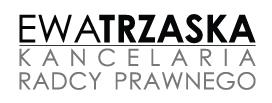 Kancelaria Radcy Prawnego Ewa Trzaska Logo